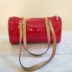 Arcadia Red Patent Italian Leather Bag